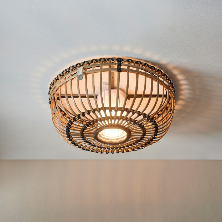 San carlos ceiling lamp natural
