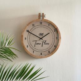 Rm time flies wall clock