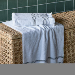 Serene towel white 100x50cm