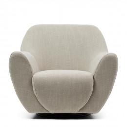 The jill swivel chair fabulous flax