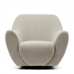 The jill swivel chair fabulous flax