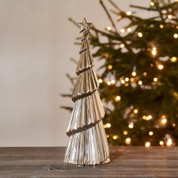 Winter glam christmas tree gold l