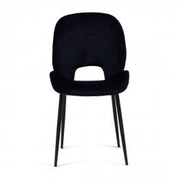 Mr beekman dining chair velvet iii indigo