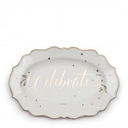 Celebrate serving plate