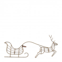 Rr christmas rudolph wall decoration