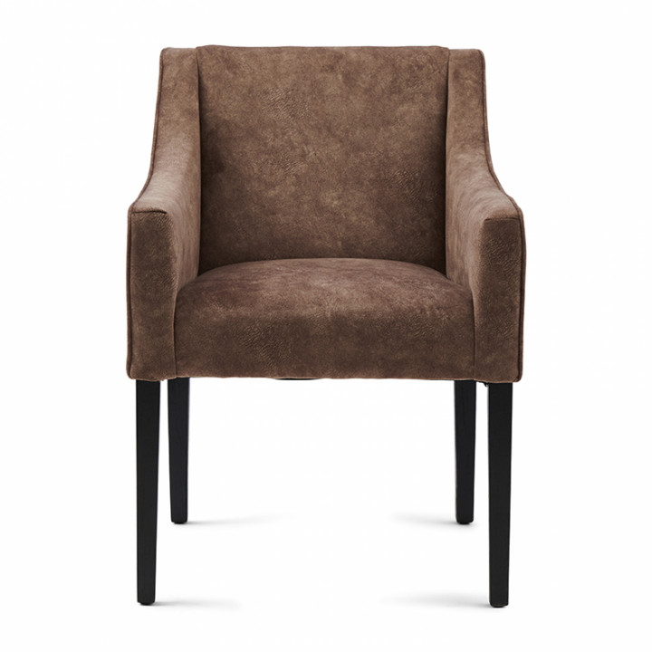 Savile row berkshire arm chair truffle