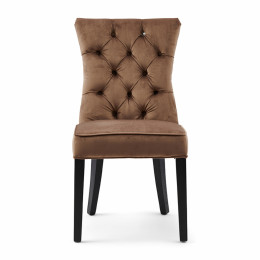Balmoral dining chair velvet iii golden mink