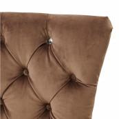 Balmoral dining chair velvet iii golden mink