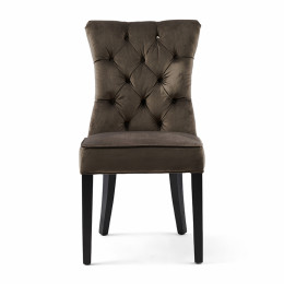Balmoral dining chair velvet iii anthracite