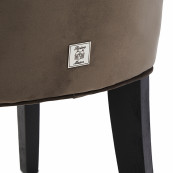 Balmoral dining chair velvet iii anthracite