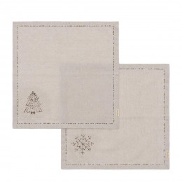 Sparkling christmas napkin 2 pieces