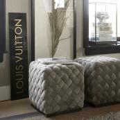 Room 48 stool 40x40 pebbles