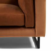 Biltmore 3 5 seater sofa leather cognac