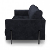 Bal harbour 3 5 seat sofa velvet trafalgar grey