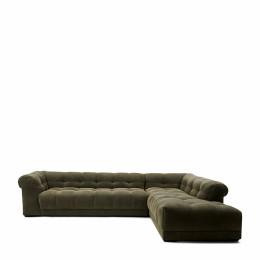 Cobble hill corner sofa right celtic weave pacific turtle