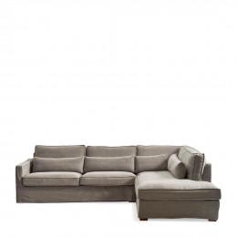 Brompton c corner sofa cl l mud