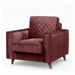 Kendall armchair vel misrose