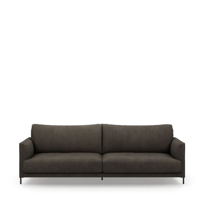 Bal harbour 3 5 seat sofa celtic weave mud