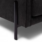 Bal harbour 3 5 seat sofa celtic weave caviar