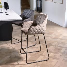 Frisco drive velvet iii counter stool golden mink