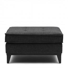 The jake melane weave footstool carbon