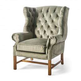 Franklin park wing chair velvet iii anthracite