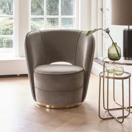 Taylor mohet lobby armchair grey