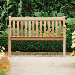 Mahog broadfield bench 4ft