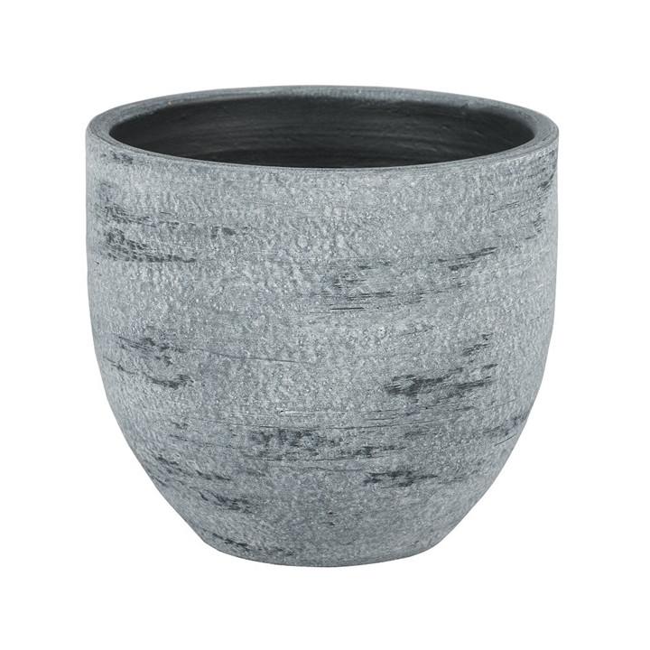 Tondela 17 01g indoor planter dark grey 16cm dia