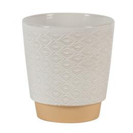 Odense eye ug indoor planter white 15cm dia