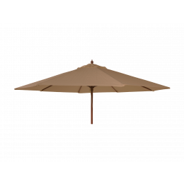 Alexander parasol taupe 2 7m