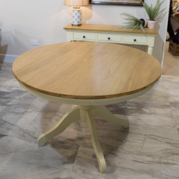 Warehouse clearance bramley 1 2m round table