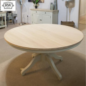 Warehouse clearance ex display clifton 1 7m round table