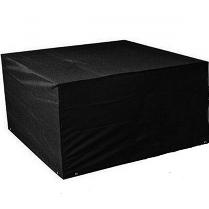 Protective cover for venice fire pit 250cm blask