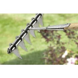 Rhs lawn scarifying rake