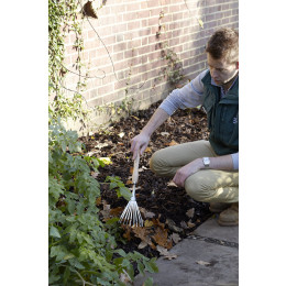 Rhs stainless mid handled shrub rake
