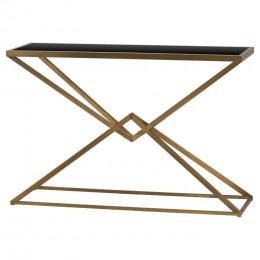 Orient antique bronze contemporary console