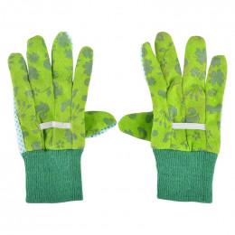Children gloves green