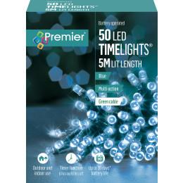 50 led timerlights 5m lit length