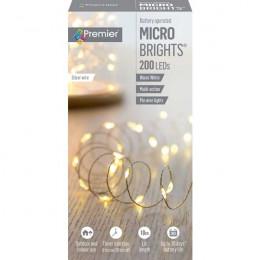 200 led micro brights 10m lit length