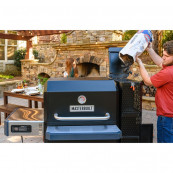 Digital charcoal grill smoker gravity fed 1050