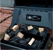 Digital charcoal smoker