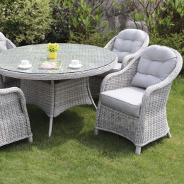 Sepino 4 seater round set
