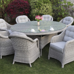 Sepino 8 seater round set