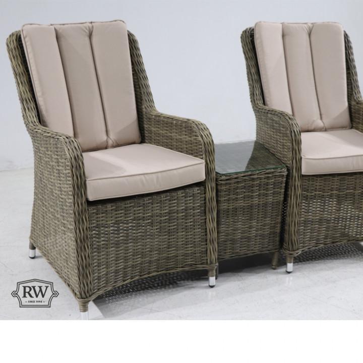 Verona 2 seat set