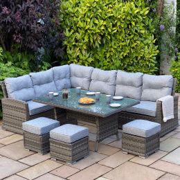 Boston casual sofa dining set