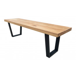 Milan dining bench