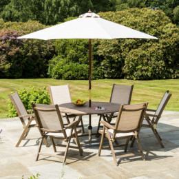 Alexander rose pheonix 6 seater set
