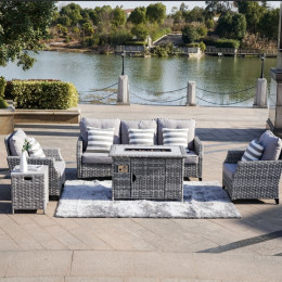 Venise firepit sofa set xl