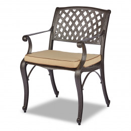 Rathwood dark chair pad